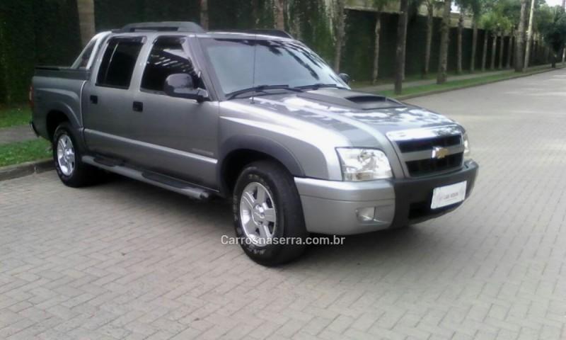 s10 2.4 mpfi advantage 4x2 cd 8v gasolina 4p manual 2009 caxias do sul
