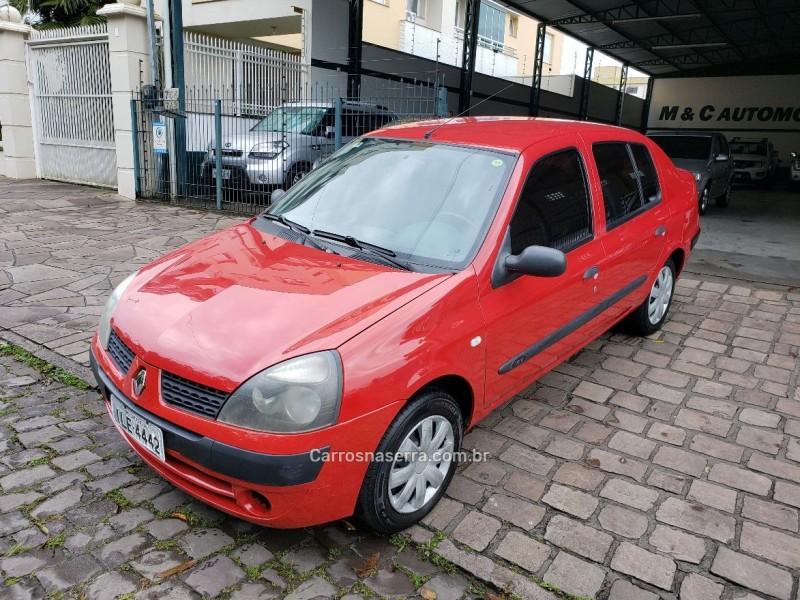 clio 1.0 authentique sedan 16v gasolina 4p manual 2003 caxias do sul