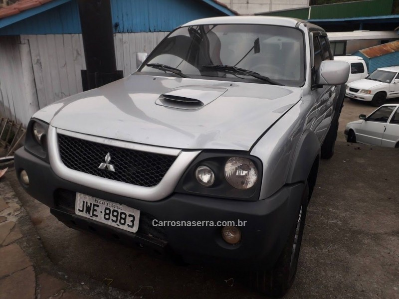 l200 outdoor 2.5 hpe 4x2 cd 8v turbo intercooler diesel 4p manual 2008 caxias do sul