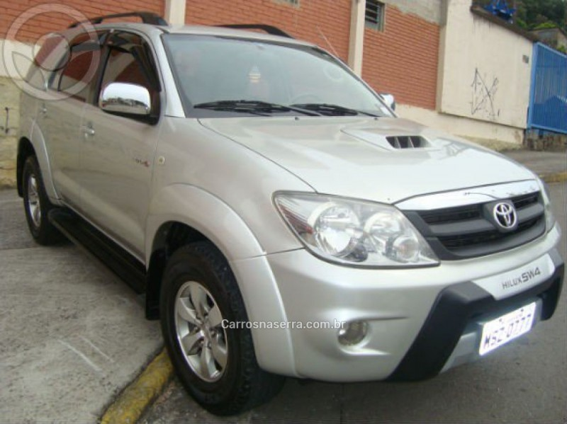 hilux sw4 3.0 srv 4x4 cd 16v turbo intercooler diesel 4p automatico 2007 caxias do sul