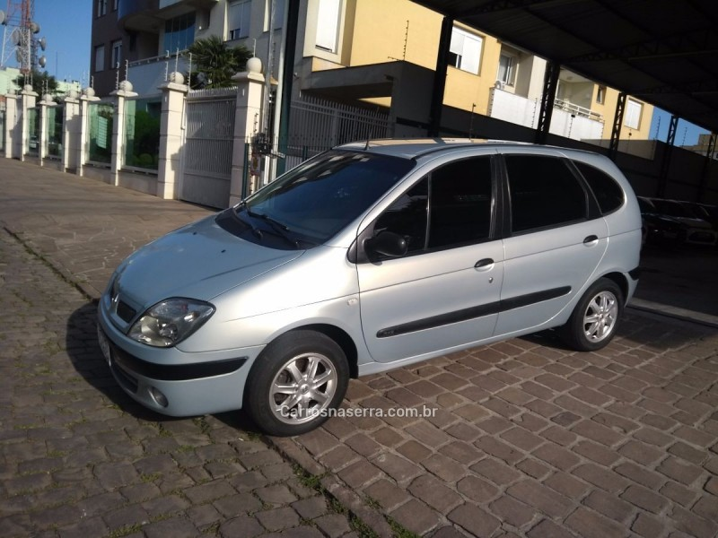 scenic 1.6 rxe 16v gasolina 4p manual 2001 caxias do sul