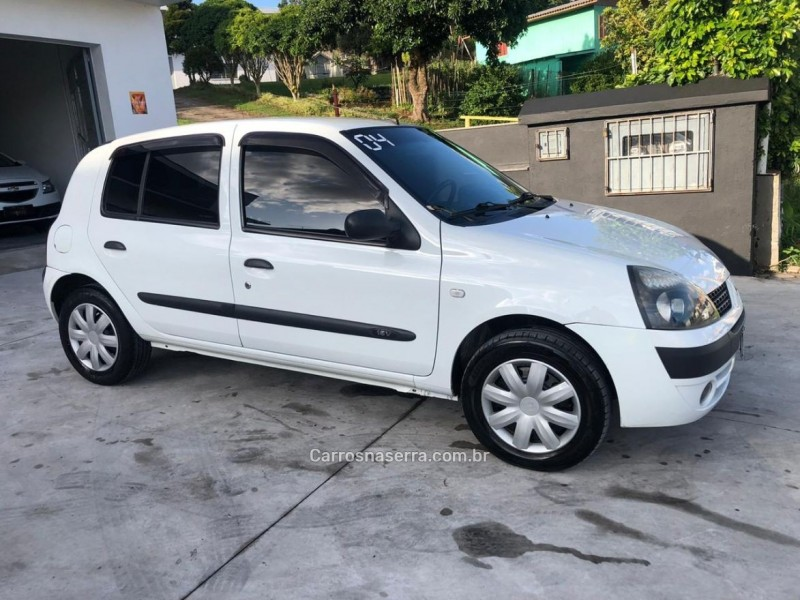 clio 1.0 authentique 16v gasolina 4p manual 2004 caxias do sul