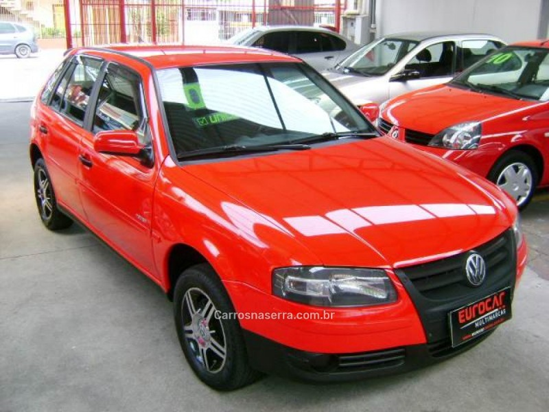 gol 1.6 mi power 8v flex 4p manual g.iv 2008 caxias do sul
