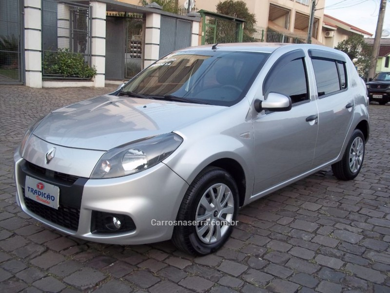 sandero 1.6 expression 16v flex 4p manual 2014 caxias do sul