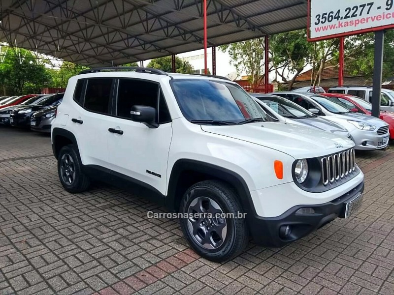 renegade 2.0 16v turbo diesel sport 4p 4x4 automatico 2016 dois irmaos