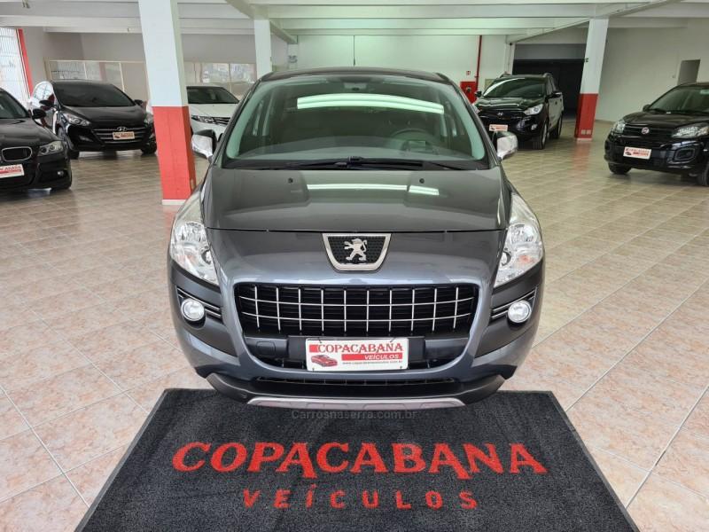 3008 1.6 allure thp 16v gasolina 4p automatico 2011 caxias do sul