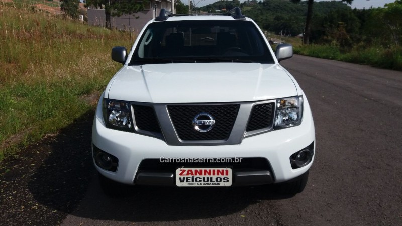 FRONTIER 2.5 SV ATTACK 4X4 CD TURBO ELETRONIC DIESEL 4P MANUAL - 2015 - FLORES DA CUNHA