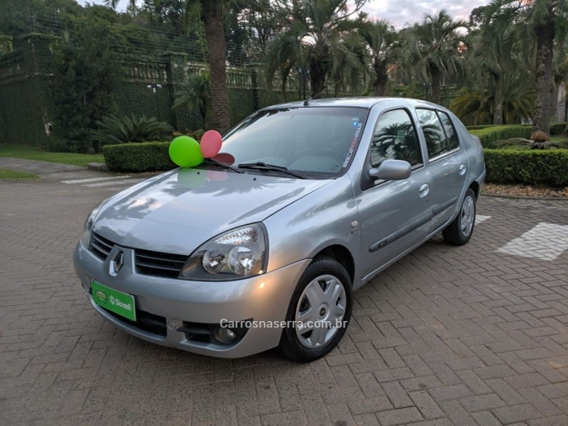 clio 1.0 expression sedan 16v flex 4p manual 2006 caxias do sul