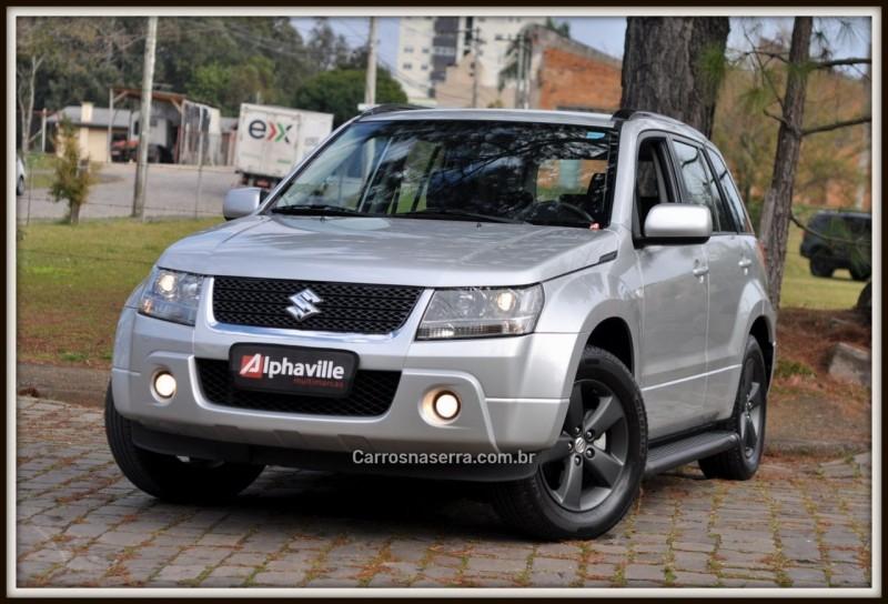 grand vitara 2.0 4x2 16v gasolina 4p automatico 2012 caxias do sul
