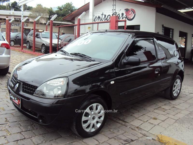 clio 1.0 authentique 16v gasolina 2p manual 2005 caxias do sul