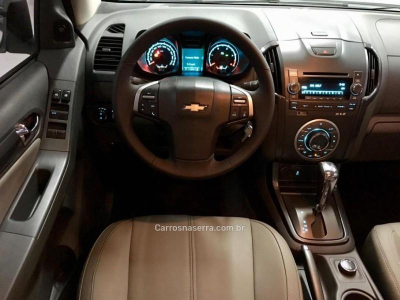 S10 2.8 LTZ 4X4 CD TURBO DIESEL 4P AUTOMÁTICO - 2013 - CAXIAS DO SUL