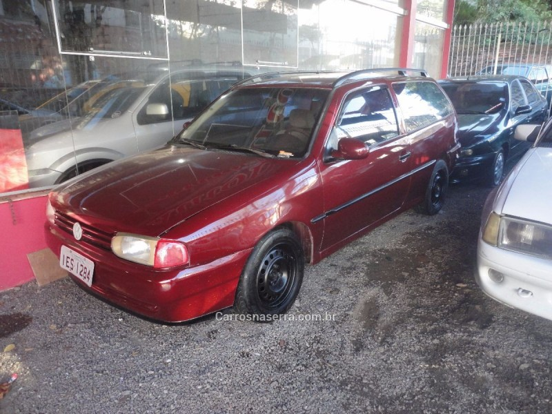 parati 1.8 cli 8v gasolina 2p manual 1996 caxias do sul