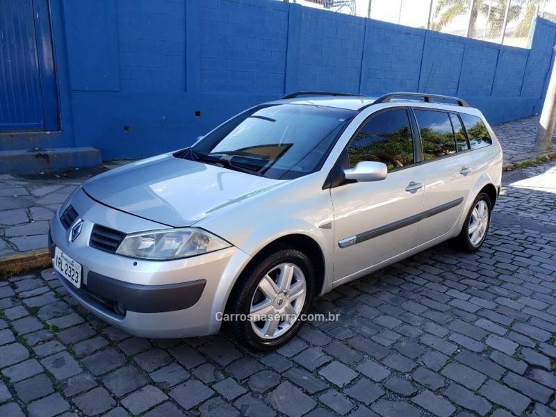 megane 2.0 dynamique grand tour 16v gasolina 4p automatico 2009 caxias do sul