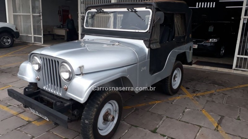 cj 5 2.6 6i 4x4 gasolina 2p manual 1971 bento goncalves
