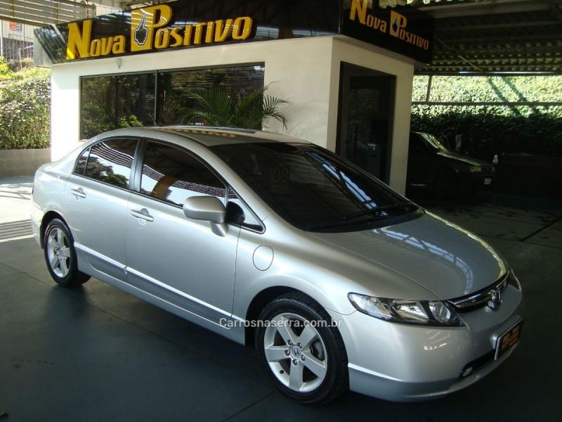 civic 1.8 lxs 16v gasolina 4p automatico 2008 caxias do sul