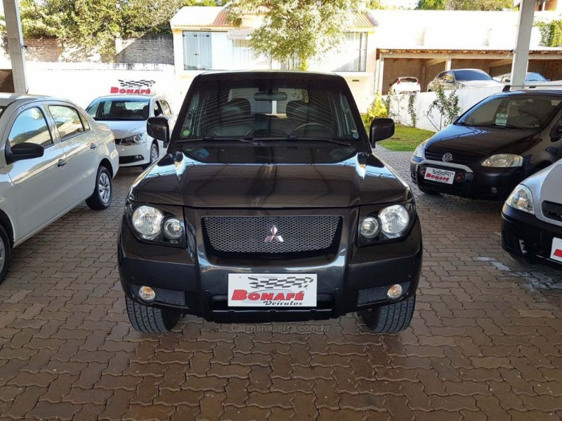 pajero tr4 2.0 4x4 16v flex 4p manual 2009 casca