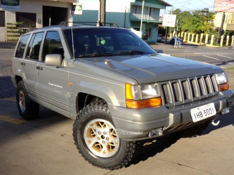 grand cherokee 4.0 laredo 4x4 6i 12v gasolina 4p automatico 1997 caxias do sul