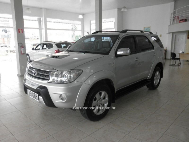 HILUX SW4 3.0 SRV 4X4 7 LUGARES 16V TURBO INTERCOOLER DIESEL 4P AUTOMÁTICO - 2011 - FARROUPILHA