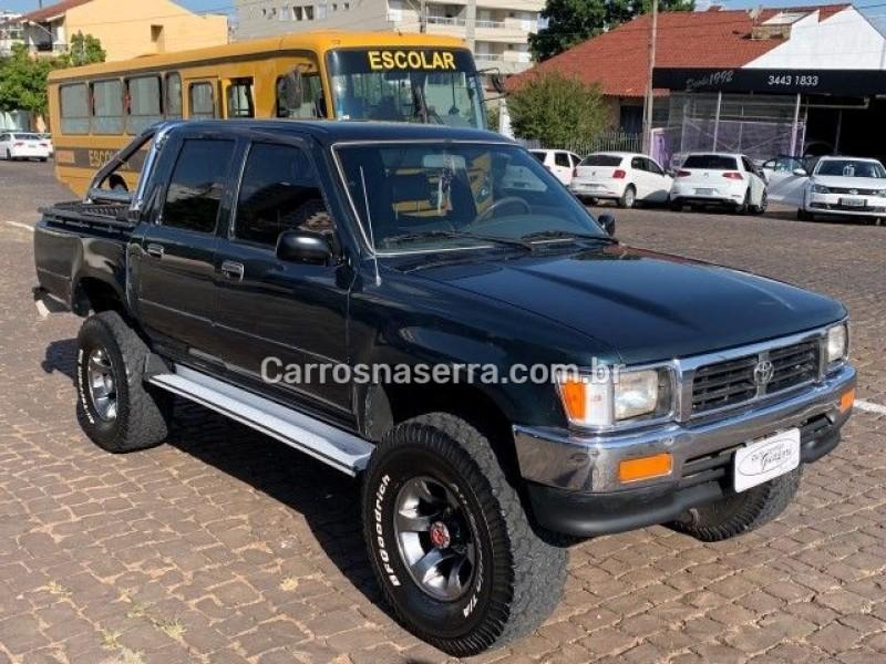hilux 2.5 std 4x4 cd 16v turbo diesel 4p manual 1996 guapore