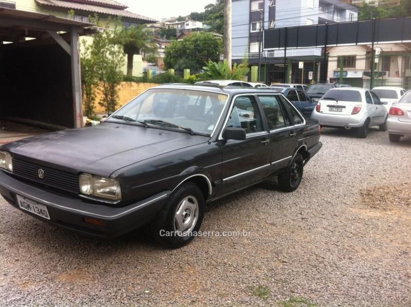 santana 2.0 gls 8v gasolina 4p automatico 1988 caxias do sul