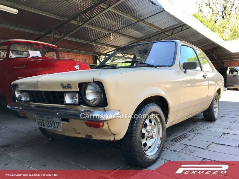 chevette 1.4 gp ii 8v gasolina 2p manual 1977 nova prata