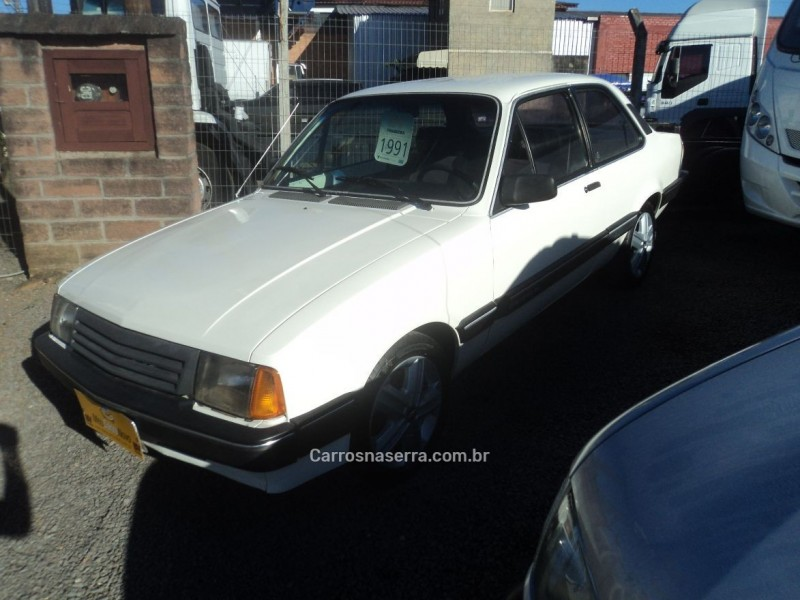 chevette 1.6 dl 8v alcool 2p manual 1991 farroupilha