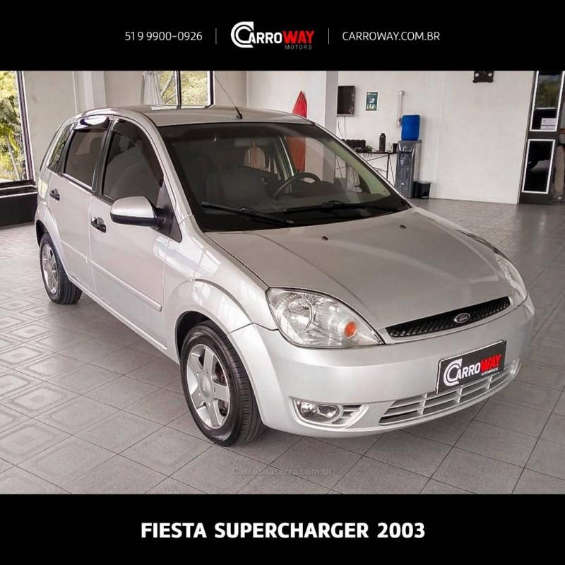 fiesta 1.0 mpi supercharger 8v gasolina 4p manual 2003 feliz