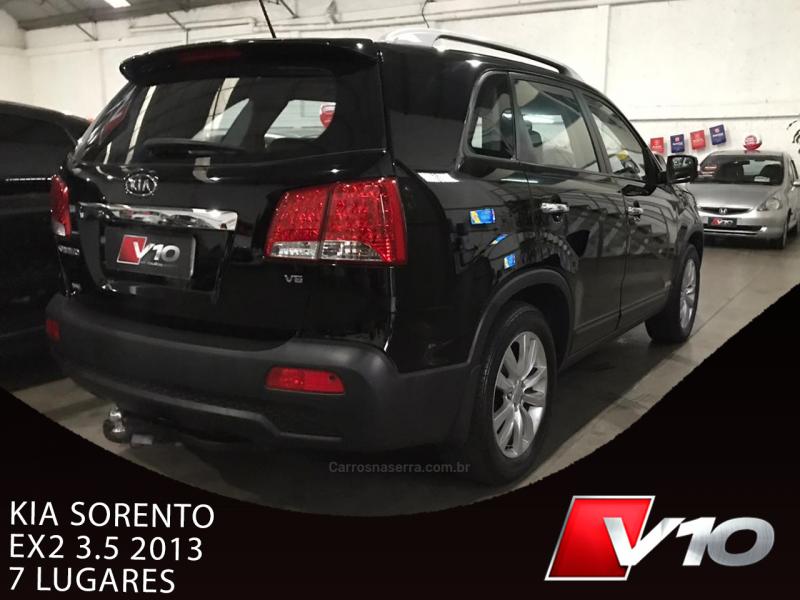SORENTO EX 3.5 L V6 4X4 AUTOMÁTICO - 2013 - CAXIAS DO SUL