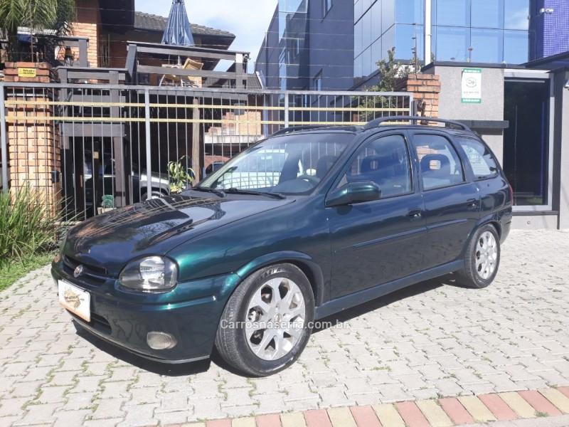 corsa 1.6 mpfi gls wagon 16v gasolina 4p manual 1998 caxias do sul