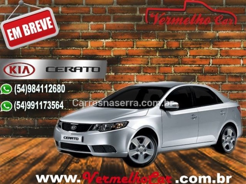 cerato 1.6 ex2 sedan 16v gasolina 4p manual 2011 caxias do sul