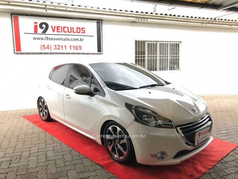 208 1.5 allure 8v flex 4p manual 2014 caxias do sul