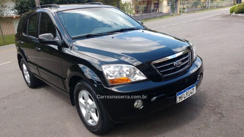 sorento 2.5 ex 4x4 16v turbo intercooler diesel 4p automatico 2009 caxias do sul