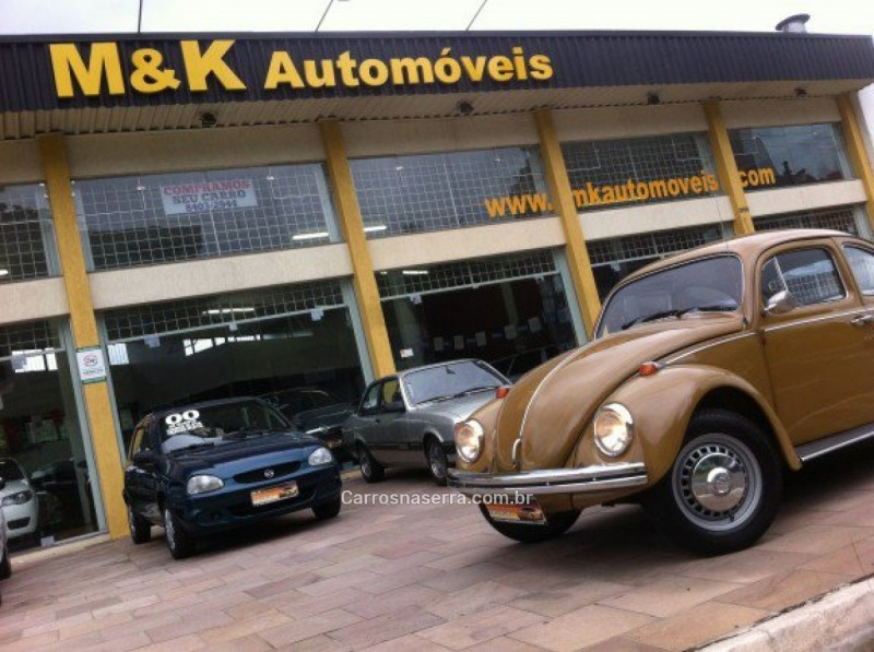 fusca 1.3 l 8v gasolina 2p manual 1976 caxias do sul