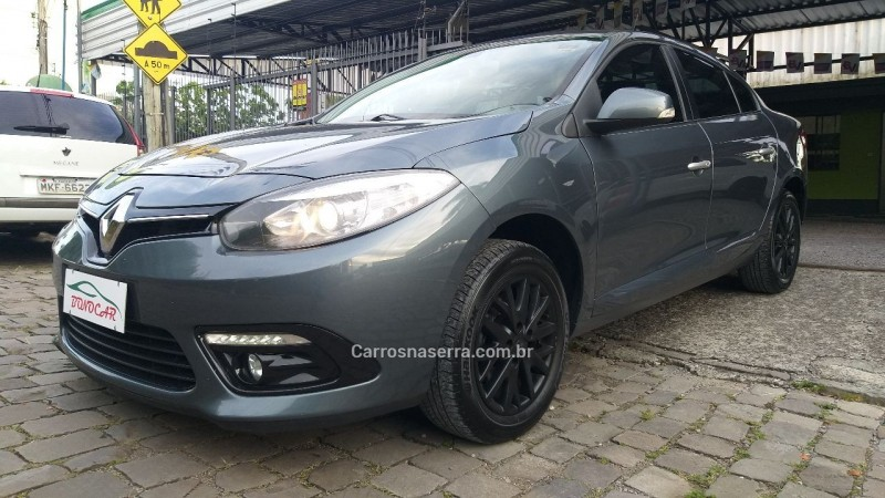 fluence 2.0 dynamique plus 16v flex 4p automatico 2016 caxias do sul