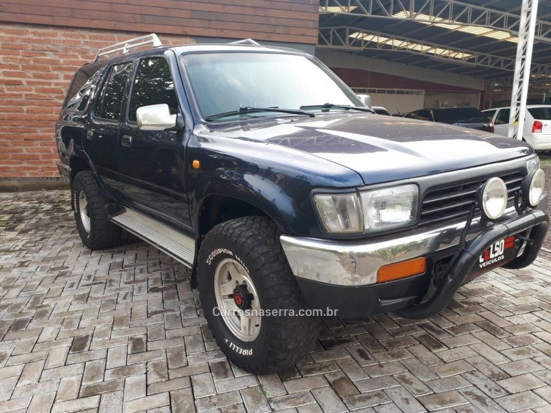 hilux sw4 2.8 4x4 8v diesel 4p manual 1993 dois irmaos