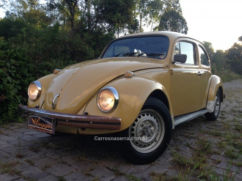 fusca 1.3 8v gasolina 2p manual 1979 caxias do sul