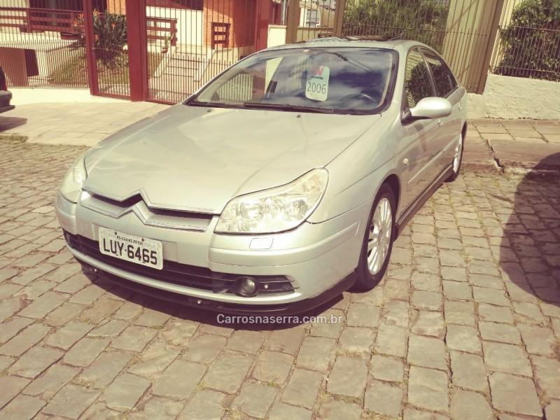 c5 2.0 mpfi exclusive 16v gasolina 4p automatico 2006 caxias do sul