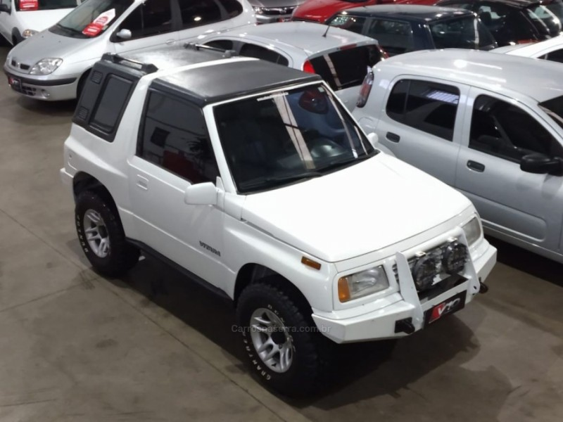vitara 1.6 jlx canvas top 4x4 8v gasolina 2p manual 1997 caxias do sul