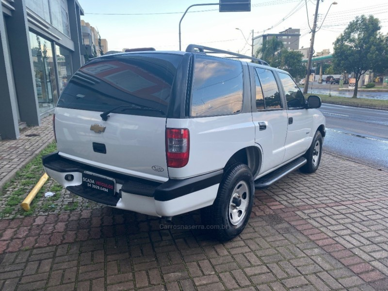 blazer 2.4 mpfi advantage 4x2 8v flex 4p manual 2009 caxias do sul