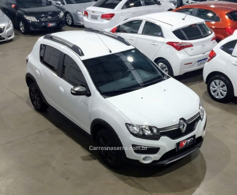 sandero 1.6 stepway rip curl 8v flex 4p manual 2017 caxias do sul
