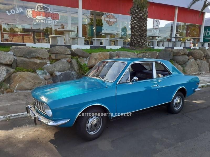 CORCEL 1.4 LUXO 8V GASOLINA 2P MANUAL - 1971 - BOM PRINCíPIO