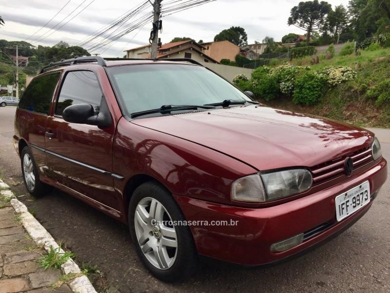 parati 1.6 cl 8v gasolina 2p manual 1996 bento goncalves