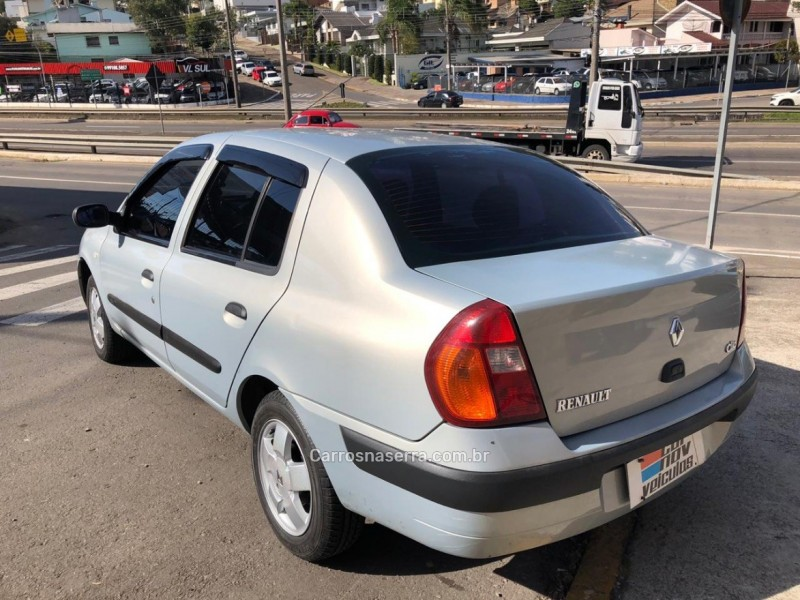 CLIO 1.6 PRIVILÉGE SEDAN 16V GASOLINA 4P MANUAL - 2003 - CAXIAS DO SUL