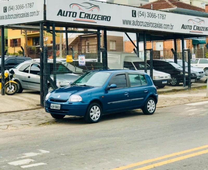 clio 1.0 rl 16v gasolina 4p manual 2000 caxias do sul