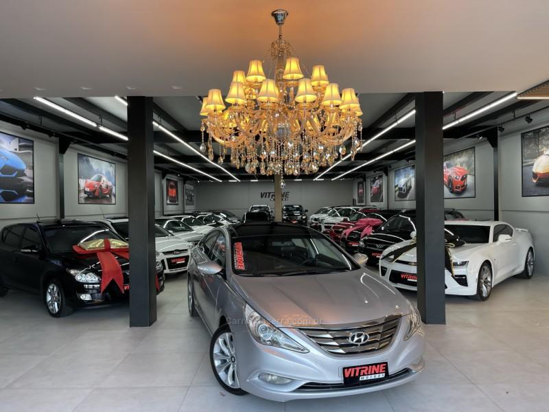 sonata 2.4 mpfi i4 16v 182cv gasolina 4p automatico 2012 estancia velha