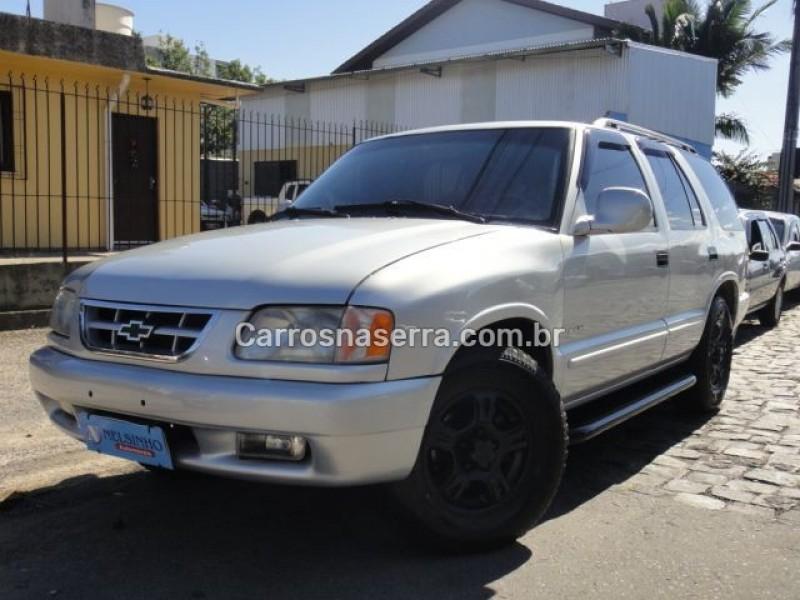 blazer 2.2 mpfi dlx 4x2 8v gasolina 4p manual 1998 caxias do sul