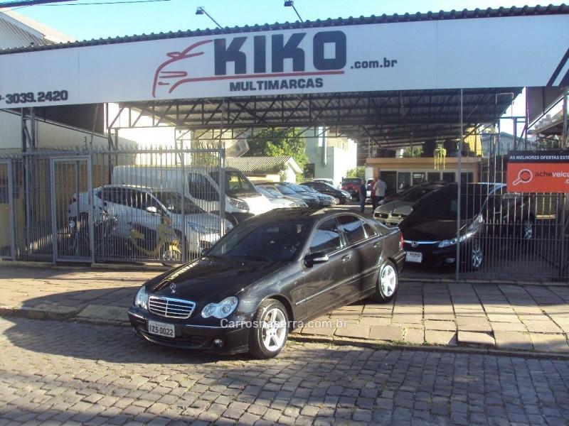 c 200 k 2.0 kompressor v6 gasolina 4p automatico 2006 caxias do sul