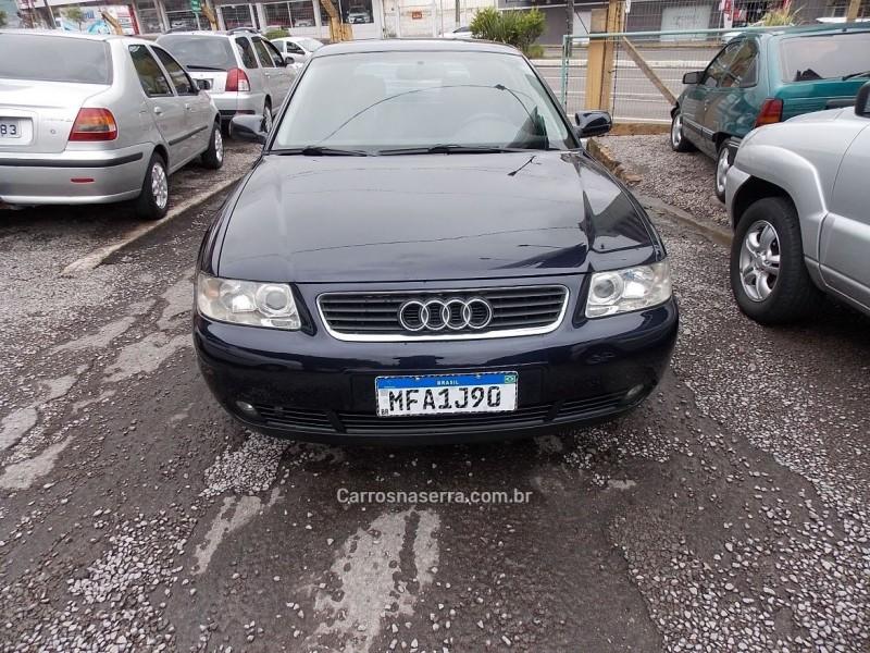 a3 1.8 20v 180cv turbo gasolina 4p manual 2001 caxias do sul