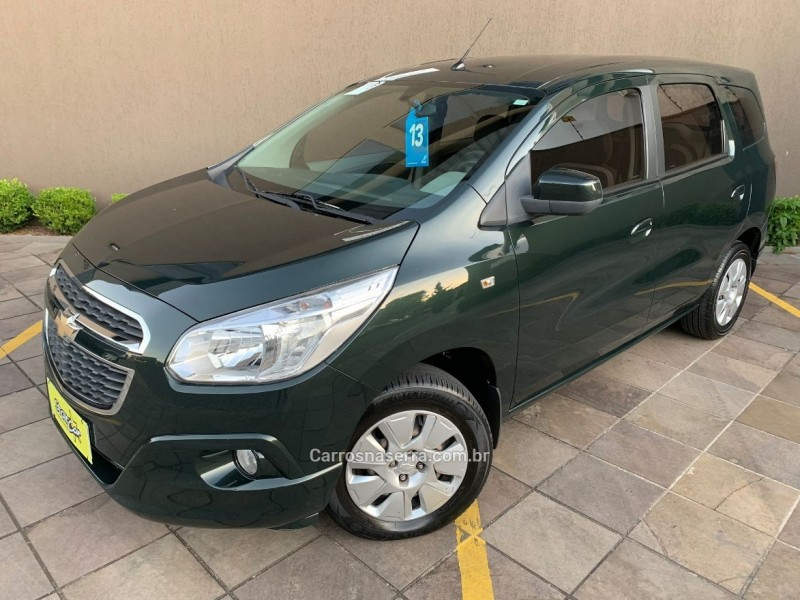 spin 1.8 lt 8v flex 4p manual 2013 caxias do sul