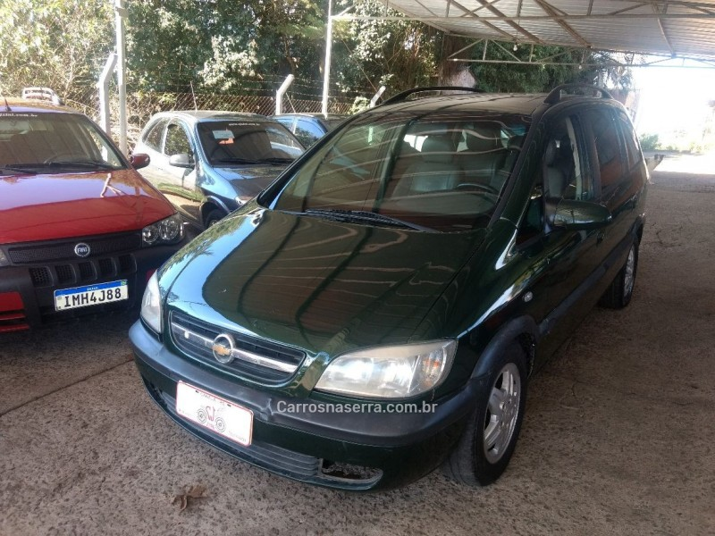 zafira 2.0 mpfi cd 8v gasolina 4p manual 2002 canela